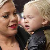 Pink und ihr Sohn Jameson