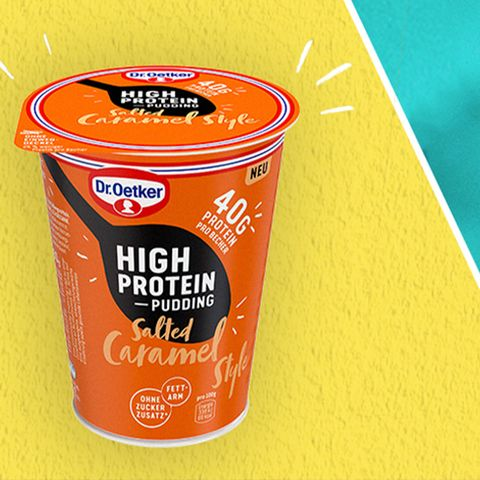 Dr. Oetker High Protein Pudding Salted Caramel Style
