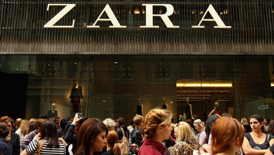 Zara Veränderungen Nachhaltigkeit