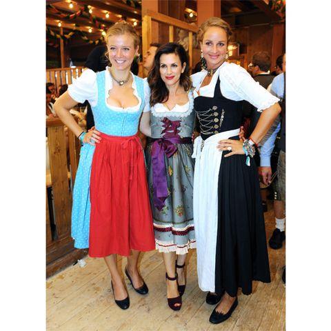 Nina Eichinger, Viktoria Lauterbach und Lara Joy Körner