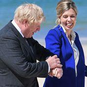 Boris Johnson und Carrie