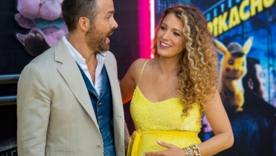 Blake Lively und Ryan Reynolds erwarten ihr drittes Kind