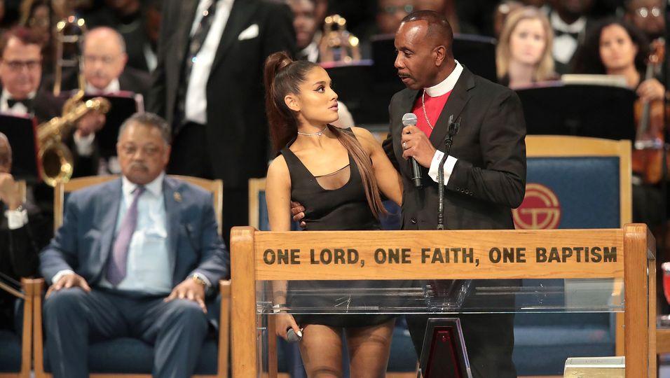 Aretha Franklin, Ariana Grande