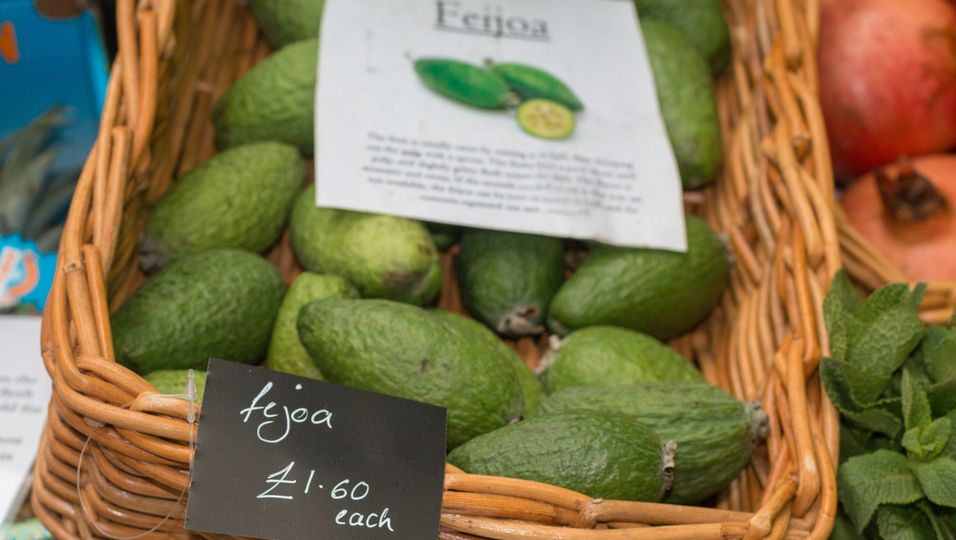 Feijoa, Superfood, gesundes Obst