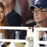 Bill Gates und seine Tochter Jennifer