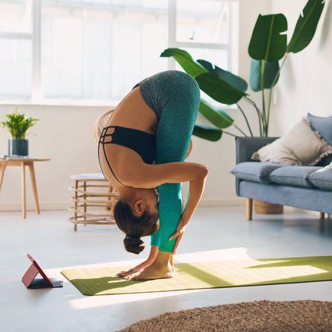 Mit dieser Yogamatte kannst du überall entspannen