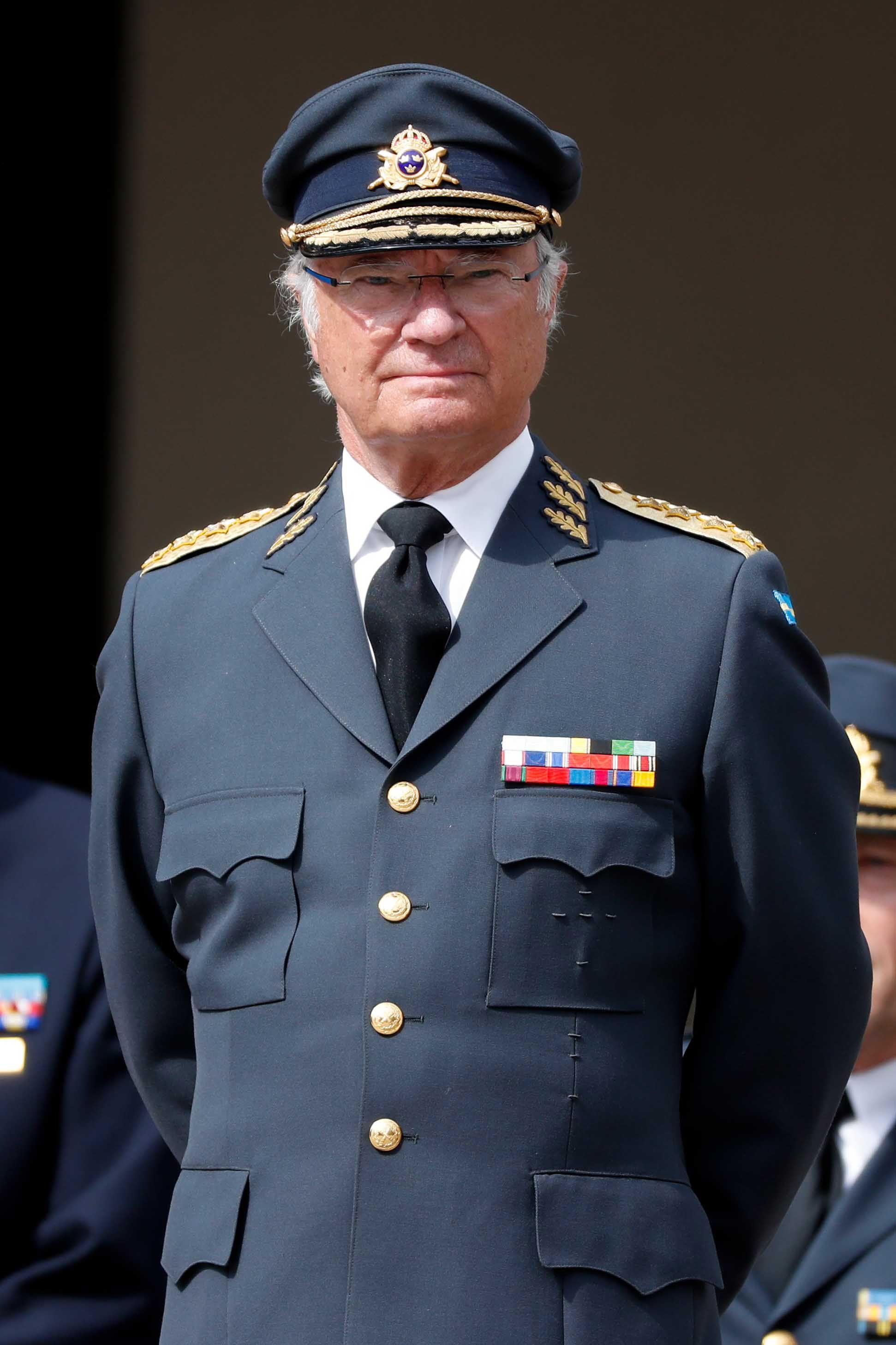 König Carl XVI Gustaf von Schweden