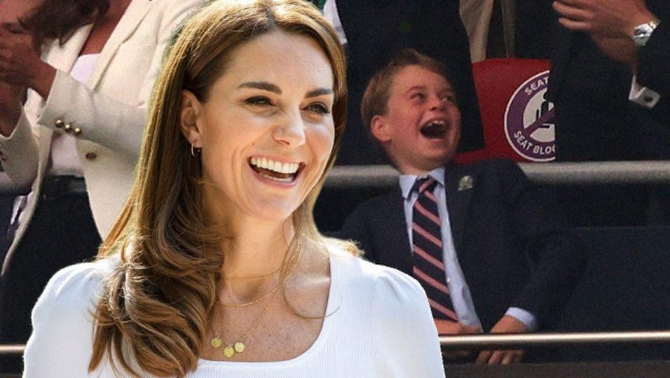 England-Tor in der 2. Minute – und Prinz George flippt vollkommen aus