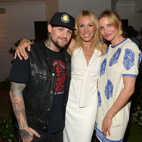 Rocker + Schauspiel-Blondine  = perfekte Hollywood-Liebe: Benji Madden (r.) und  Cameron Diaz (l.)