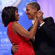 Michelle Obama und Barack Obama