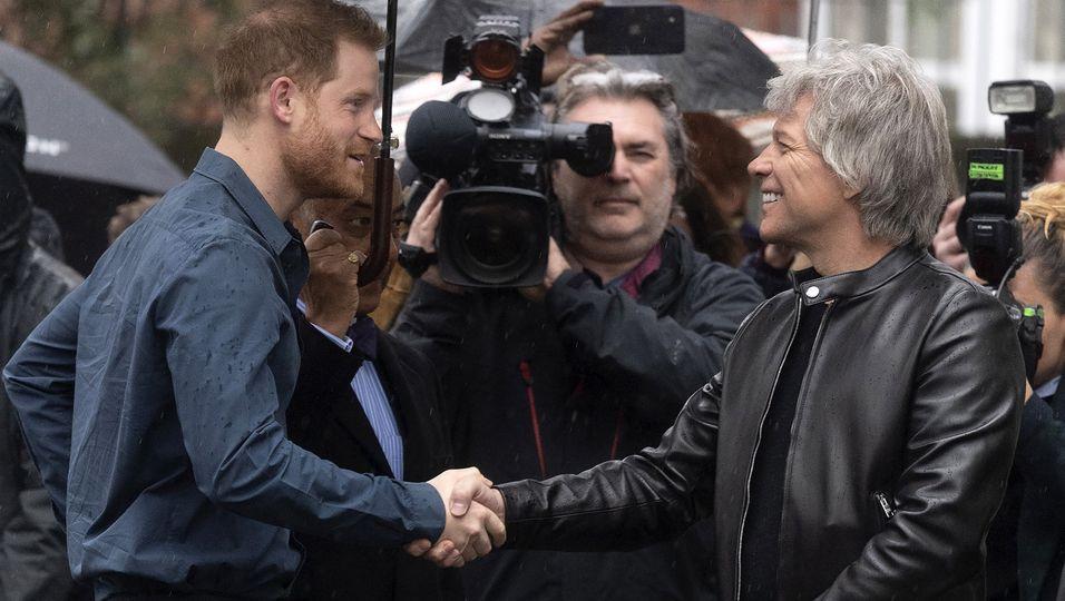 Einmal wie Rockstar Bon Jovi sein – doch dann macht er einen Rückzieher