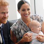 Prinz Harry, Herzogin Meghan, Archie Harrison Mountbatten-Windsor