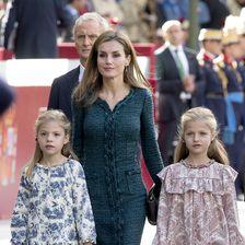 Letizia von Spanien und ihre Töchter