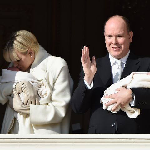 Charlene & Albert von Monaco zeigen ihre Zwillinge