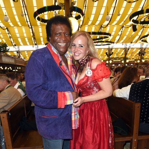 Sie hatten eine Menge Spass: Sänger Roberto Blancouns seine Frau Luzandra
