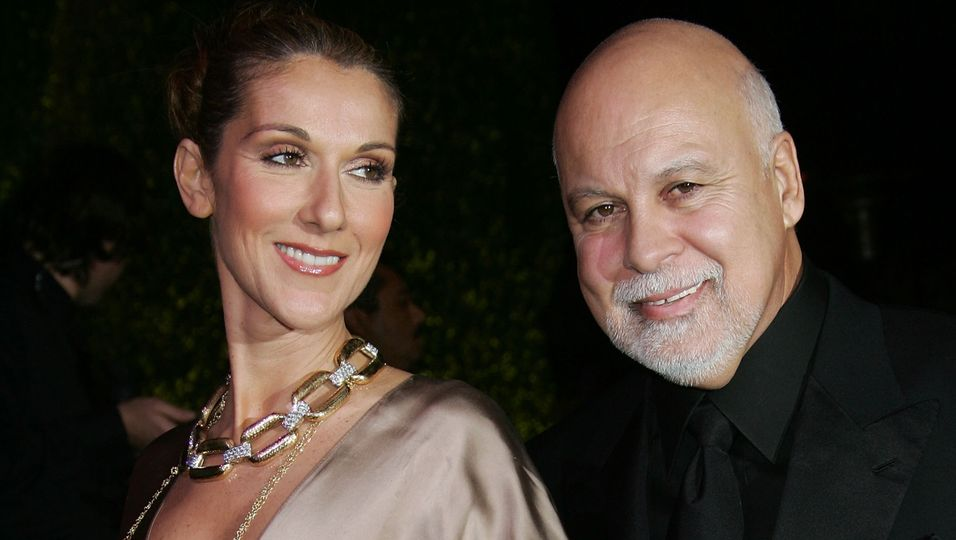 Celine Dion und Rene Angelil