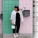 instagram-Frau-kurvig