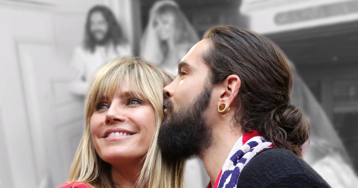 Heidi Klum & Tom Kaulitz: Sie teilen ungesehnes Foto ihrer Hochzeit
