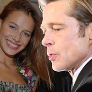 Brad Pitt und Nicole Poturalski