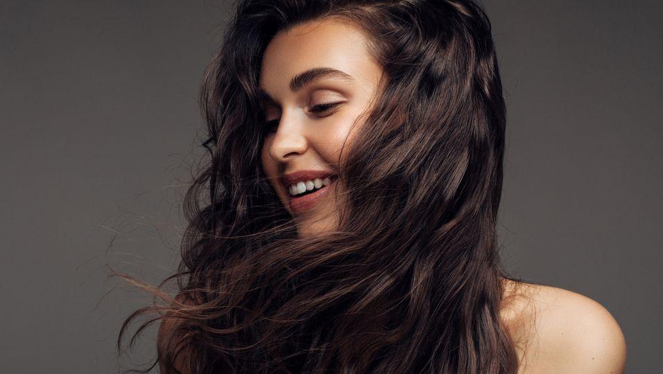 Haar-Vitamine Brünette