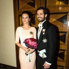 Sofia von Schweden und Carl Philip von Schweden