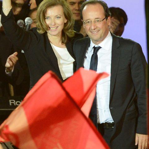 Valerie Trierweiler, Francois Hollande
