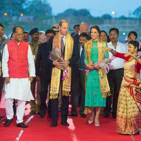 Herzogin Kate - So schön wie eine indische Maharani