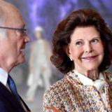 Carl Gustaf & Silvia von Schweden: Erst Bergwerk & Helm, dann roter Teppich: So verabschieden sie das Bundespräsidentenpaar