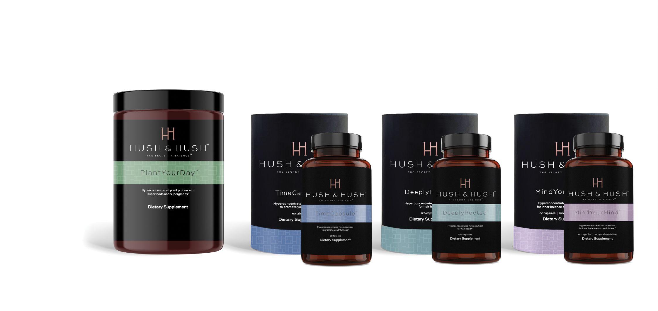 Advertorial Hush & Hush Produkte