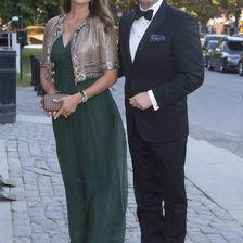 Zum 40. Thronjubiläum von Carl Gustaf am 15. September konnte man bei Madeleine noch nicht wirklich einen Babybauch ausmachen.