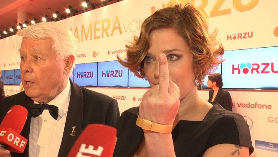 """""""Ich sch**ße auf Size Zero!"""""""